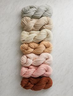 Purl Soho Super Easy Blanket in Worsted Twist Bundle Knitting Kits, Knitting Yarn, Yarn Color Combinations, Purl Bee, Yarn Inspiration, Purl Soho, Yarn Stash, Textiles, How To Purl Knit