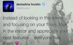 Appreciate your best features Inspirational Tweets, Inspiring Quotes, Demi Lovato Quotes, Be Your Own Hero, Verbal Abuse, Appreciate You, Abusive Relationship, She Song