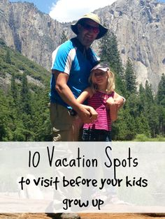 Best vacation spots for kids! Here is where you should take them while they''re still young, our top 10 favorite vacations with kids and family resorts that my kids love.