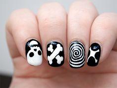 Easy Skull Nails