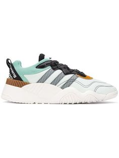 58b0afb44 Adidas Originals By Alexander Wang Side Striped lace-up Sneakers - Farfetch