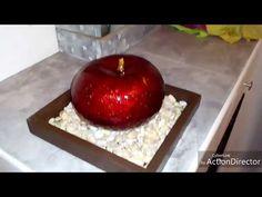 manzanas para centro de mesa con tinta parte 1 (tipo cerámica) DIY - YouTube Resin Art, Table Centerpieces, Caramel Apples, Decoupage, Christmas Crafts, Recycling, Alcohol, Diy Crafts, Fruit