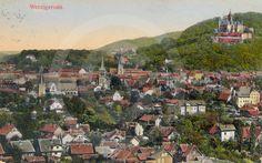 Historische Postkarte von Wernigerode.