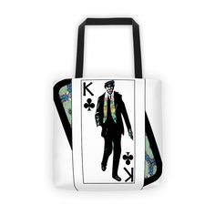 Play Your Hand...King Club No. 1 Tote bag