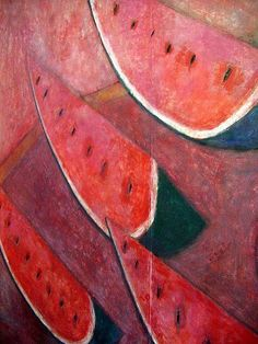 Still Life Brushstrokes, Nature Morte Paintings - Rufino Tamayo (1899-1991), Oaxaca, Mexico