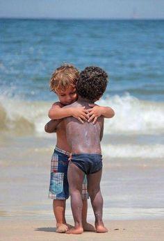 beach friends