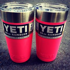 Pink 20 oz Yeti cup from The Shoe Box in Tallahassee, Florida 8508779174