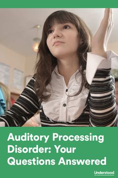 Answers to your questions about auditory processing disorder #APD Repinned by SOS Inc. Resources pinterest.com/sostherapy/.