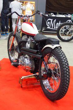 Rad Jalopy - yokohama hotrod custom show 2015 Flat Track Motorcycle, Tracker Motorcycle, Motorcycle Paint Jobs, Retro Motorcycle, Bobber Motorcycle, Motorcycle Design, Indian Motorcycles, Triumph Motorcycles, Old School Motorcycles