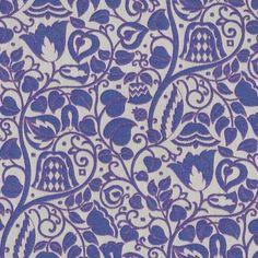 Josef Hoffmann Blumengarten Blue From Loome Fabrics Kitchen Fabric, Deco, Woven Fabric, Loom, Art Nouveau, Upholstery, Weaving, Fabrics, Textiles