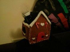 Christmas felt house