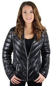 Jessica Simpson Women's Packable Down Coat Jacket Ultra Lightweight Plus Size Avail