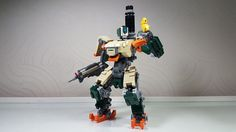 LEGO Bastion from Overwatch deserves every play of the game