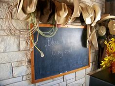 Home is where you hang your hat...out at the ranch