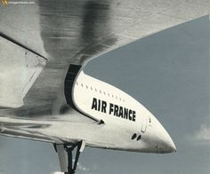 Well - would have liked to have played with.... Air France Concorde — www.facebook.com/VintageAirliners ✈