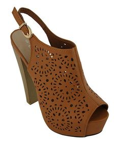 Look what I found on #zulily! Tan Bella Sandal #zulilyfinds