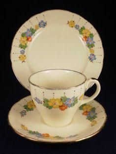 Alfred Meakin Floral Trio   eBay