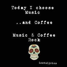 Coffee Music, Rocker Chick, Coffee Love, Choose Me, Movie Posters, Calm, Artwork, Work Of Art, Auguste Rodin Artwork