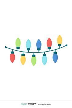 Flat Design Illustration, Digital Illustration, Red Christmas Jumper, Web Design Packages, Graphic Design Tutorials, Vector Illustrations, Christmas Lights, Print Design, Designers