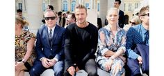 Who was on the front row at Paris Fashion Week? #menswear