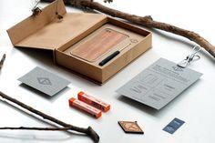 Eden - Holz fürs iPhone by QOOP , via Behance