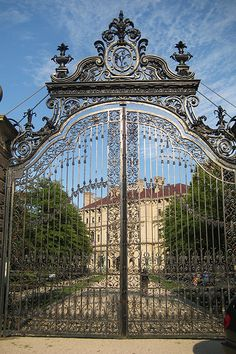 Gateway to The Breakers, the Gilded Age summer home of Cornelius Vanderbilt II