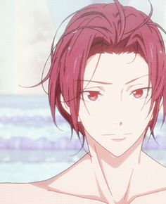 """shiruba-tsuki: """"Rinharu Week - Day 4: Competition """"See? You're all fired up now. """" """""""