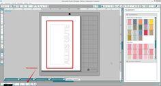 Schrift an eine Form anheften - Silhouette Tipps & Verpackungs Ideen von Jette