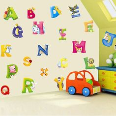 Kids Early Learning Animal Alphabet Wall Sticker DIY Room Decoration //Price: $14.98 & FREE Shipping //     #wallstickerforbedroom #wallstickerforlivingroom #wallstickerforkids #wallstickerforkitchen #3Dwallsticker #removeablewallsticker #treewallsticker ##3wallstickers#3dbutterflywallstickers #3dmirrorwallstickers #3dwallsticker #3dwallstickermalaysia #3dwallstickers #3dwallstickersamazon #3dwallstickersaustralia #3dwallstickersbeach #3dwallstickersebay #3dwallstickerspakistan…