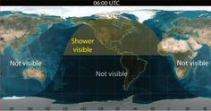 #ParaElFinDeSemana #LluviaDeEstrellas  Los invitamos a mirar el cielo, ya que la NASA ha previsto una posible lluvia de meteoritos para hoy (May Camelopardalids).  La lluvia comenzará la noche del viernes 23, pero la mejor manera para observarla será durante las 06:00 y las 08:00 Tiempo Universal (entre las 01:00 y las 03:00 tiempo de México centro), hora prevista donde la Tierra se encuentre con los escombros del cometa.