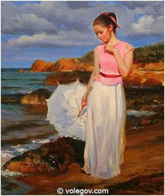 Volegov.com :: CALIPSO'S BAY, painting,
