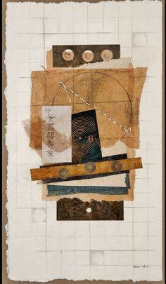 "Susan Hart  ""258 Found""  Mixed Media Collage"