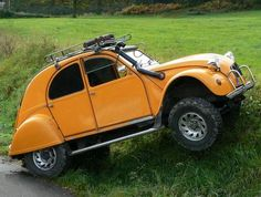 2CV 4WD That's my favorite car!!