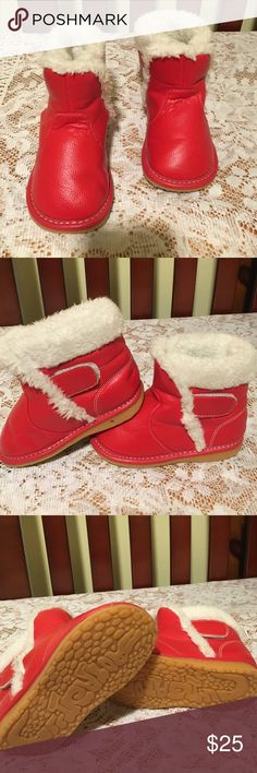 Red Kids Boots There is nothing like seeing your little princess in these Santa red boots grritator Shoes Boots