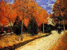 Vincent Van Gogh「Autumn Garden」(1888)