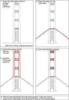 drawyourworld.com, Draw a Suspension Bridge, Tacoma Narrows