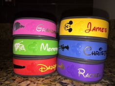 Personalize your magic band with your favorite character and your name! You pic the Character and Name you would like, and the color!  I have