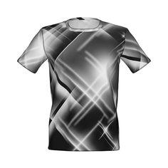暗闇を照らす輝きのグラフィックTシャツです。/『LIGHTS グラフィックTシャツ 白』 - 7th Spirits