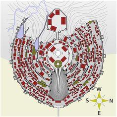 Map of Minas Tirith