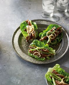 """Celebrity Chef Pete Evans; """"Peking Duck Rolls My Way"""" from the new foodie's playground - www.eatlove.com.au, follow your favourite celebrity chefs, and share recipes on facebook!"""