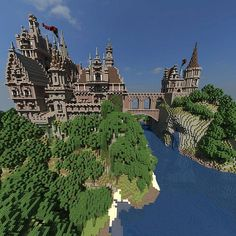 Menock Castle Minecraft Project