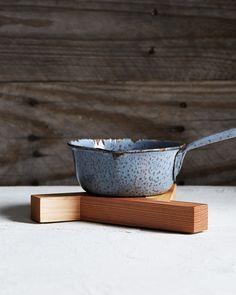 Three Wood Trivet - Koizumi Studio - Asahineko - Nalata Nalata