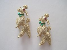 the show dogs  vintage 1960s FRENCH POODLE scatter by FASHIONRERUN, $28.00