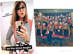 Unsere DIY Karnevalskostüme aus den letzten Jahren: Gruppenkostüm Pierrot      #karneval #fasching #kostüm #DIY waseigenes.com Halloween Kostüm, Halloween Costumes, Carnival, Punk, Red Tulle Skirt, White Shirts, Halloween Costumes Uk, Carnavals