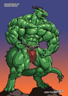 [Patreon bonus]Varanis Hulk by Pokkuti.deviantart.com on @DeviantArt