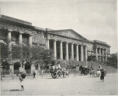 Bombay Town Hall and Asiatic Society, c. 1900