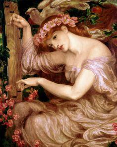 Dante Gabriel Rossetti - A Sea Spell 1877