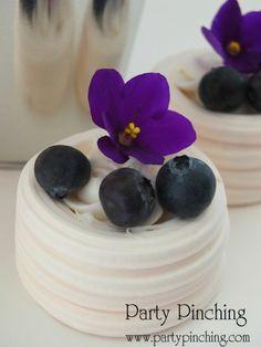 blueberry meringes greenhouse cake, garden cake, garden party ideas, garden party desserts