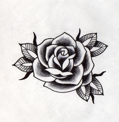 rosa negra tradicional
