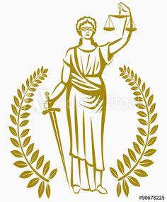Balanza De Justicia Dibujo